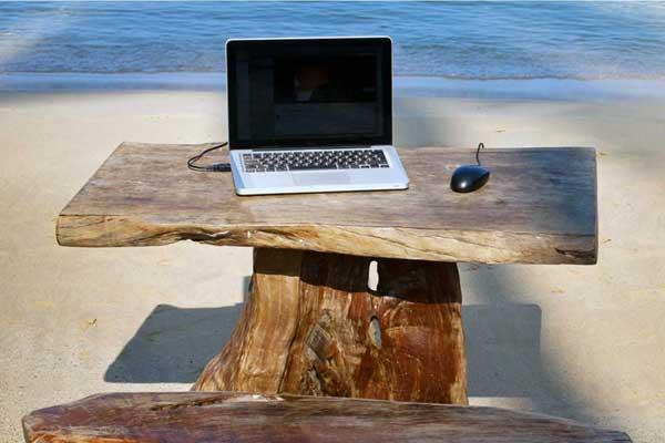 freelance plage macbook